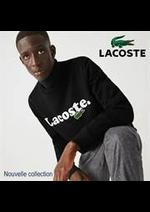 Prospectus Lacoste : Nouvelle collection