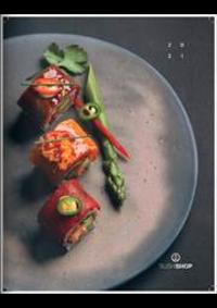 Prospectus Sushi shop PARIS 52 Rue de Rivoli : Carte 2021
