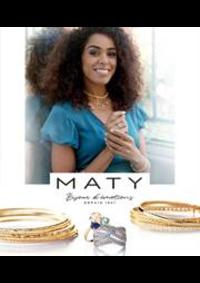 Prospectus Maty PARIS : Catalogue Printemps-Eté 2021