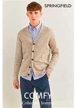 Prospectus Springfield : Collection homme