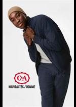 Catalogues et collections C&A : Nouveautés  Homme