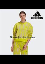 Catalogues et collections Adidas : Nouvelles des femmes