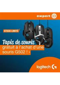 Prospectus Expert Marche-en-Famenne : G502 Gaming muismat actie