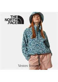 Prospectus The North Face PARIS ST GERMAIN : Vestes femme