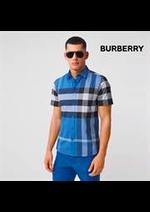 Prospectus Burberry : Nouveautés / Homme