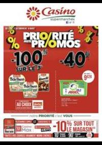 Prospectus Supermarchés Casino THONON LES BAINS : Priorité aux promos