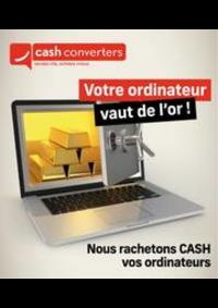 Prospectus Cash Converters Bouge : Bijoux/Montres