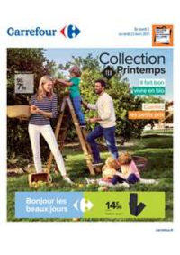 Prospectus Carrefour ROSNY SOUS BOIS : Collection TEX Printemps
