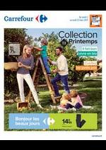 Prospectus Carrefour : Collection TEX Printemps