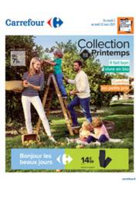 Prospectus Carrefour Montreuil : Collection TEX Printemps