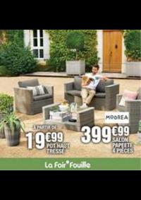 Prospectus La Foir'Fouille Mons - Quaregnon : Mobilier, décorations, luminaires & pots