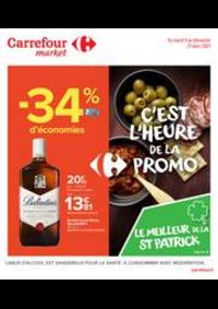 Prospectus Carrefour Market NANTERRE : C'est l'heure de la promo