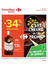 Prospectus Carrefour Market NOISY LE SEC : C'est l'heure de la promo