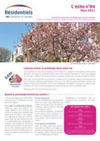 Prospectus Mondial Relay Paris 10 - 14 Bd de Magenta : L'écho des résidentiels