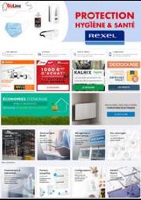 Prospectus Rexel PARIS : Protection Hygiène & Santé