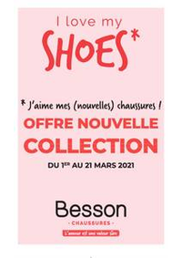 Prospectus Besson Garges les Gonesse : I love my shoes - Besson Chaussures