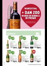 Prospectus Supermarché Delhaize Laeken : WIJNFESTIVAL