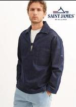 Prospectus Saint James : Polos et tee shirts