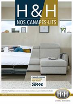 Prospectus  : Nos canapés-lits