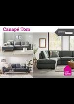 Prospectus Leen Bakker : Canapé Tom