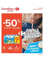 Prospectus Carrefour Market : Les produits laitiers