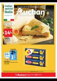 Prospectus Auchan Semécourt Metz : L'Italie s'invite à votre table !