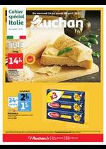 Prospectus Auchan : L'Italie s'invite à votre table !