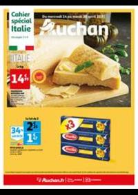 Prospectus Auchan CERGY : L'Italie s'invite à votre table !