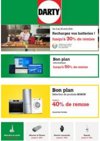 Prospectus DARTY LA MADELEINE : Rechargez vos batteries !