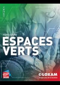 Prospectus Loxam PARIS : Espaces verts et agriculture