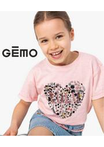 Prospectus Gemo : Robes, tee-shirts & tops pur filles