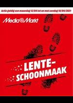 Prospectus Media Markt : Lente-Schoonmaak