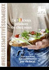 Journaux et magazines Shop'n Go Gembloux : Folder Delhaize