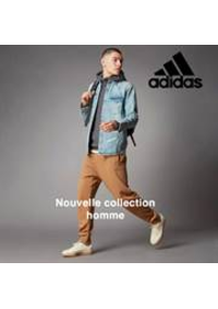 Prospectus adidas Performance Store Paris : Nouvelle collection homme