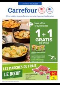Prospectus Carrefour Market TAMINES : Les marchés du frais : Boeuf