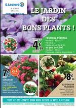 Prospectus E.Leclerc : LE JARDIN DES BONS PLANTS !