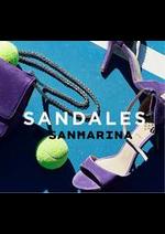 Prospectus San Marina : Sandales