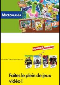 Prospectus Micromania TAVERNY : Faites le plein de jeux vidéo !