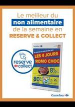 Prospectus Carrefour : Promos Choc - Reserve & Collect