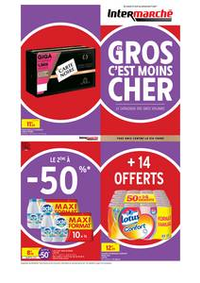 Prospectus Intermarché Super Orgeval : EVEN GROS VOLUMES AVRIL