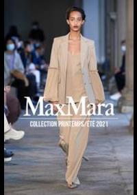 Prospectus Max Mara Paris 8 : Collection Printemps/Été 2021