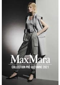 Prospectus Max Mara Paris 16 : Collection Pré-Automne 2021