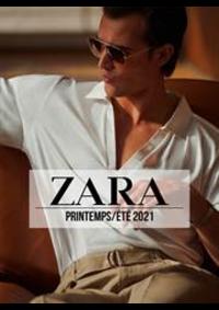 Catalogues et collections ZARA ANDERLECHT Westland Shopping Center : ZARA HOMME Campaign PrintempsÉté  2021