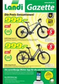 Prospectus Landi Bolligen - Genossenschaft : Landi Gazette KW 18