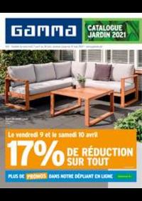 Promos et remises GAMMA GERAARDSBERGEN : Catalogue Jardin 2021