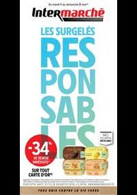 Prospectus Intermarché Hyper Thonon-Les-Bains : EVEN SURGELES MAI