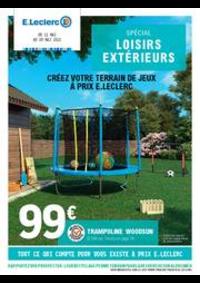 Prospectus E.Leclerc CERNAY : Spécial loisirs extérieurs
