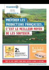 Prospectus E.Leclerc SCIEZ SUR LÉMAN / THÔNON : Catalogue E.Leclerc