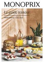 Prospectus Monoprix : Le Guide Traiteur