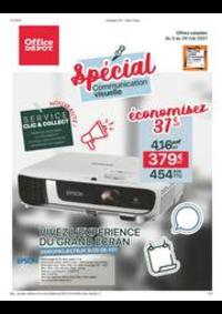 Prospectus Office DEPOT Argenteuil : Spécial communication visuelle